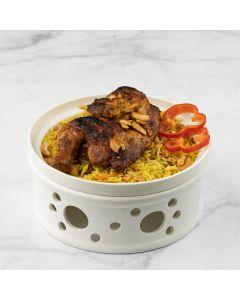 ارز شرقي مع الدجاج
