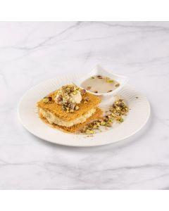 Osmallieh With Fresh cream Platter