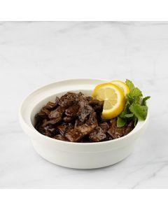 Lamb liver Pomegranate Sauce / lemon&garlic / vegetables