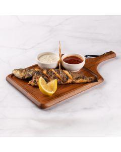 سمك سيباس مشوي